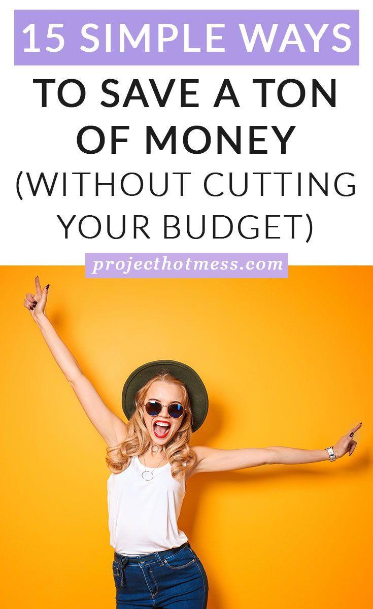 Photo of 15 einfache Möglichkeiten, um eine Menge Geld zu sparen (ohne Ihr Budget zu kürzen)