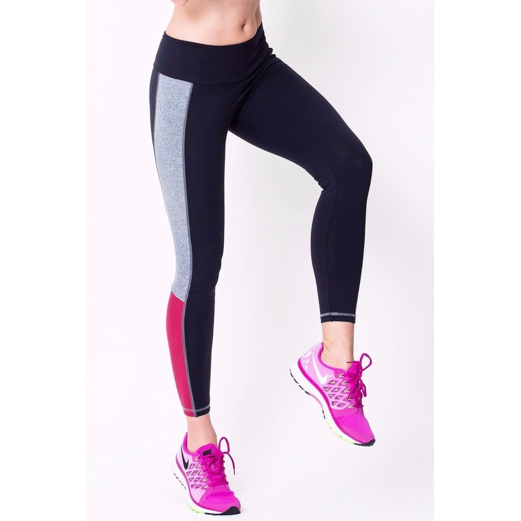 Black contrast legging products