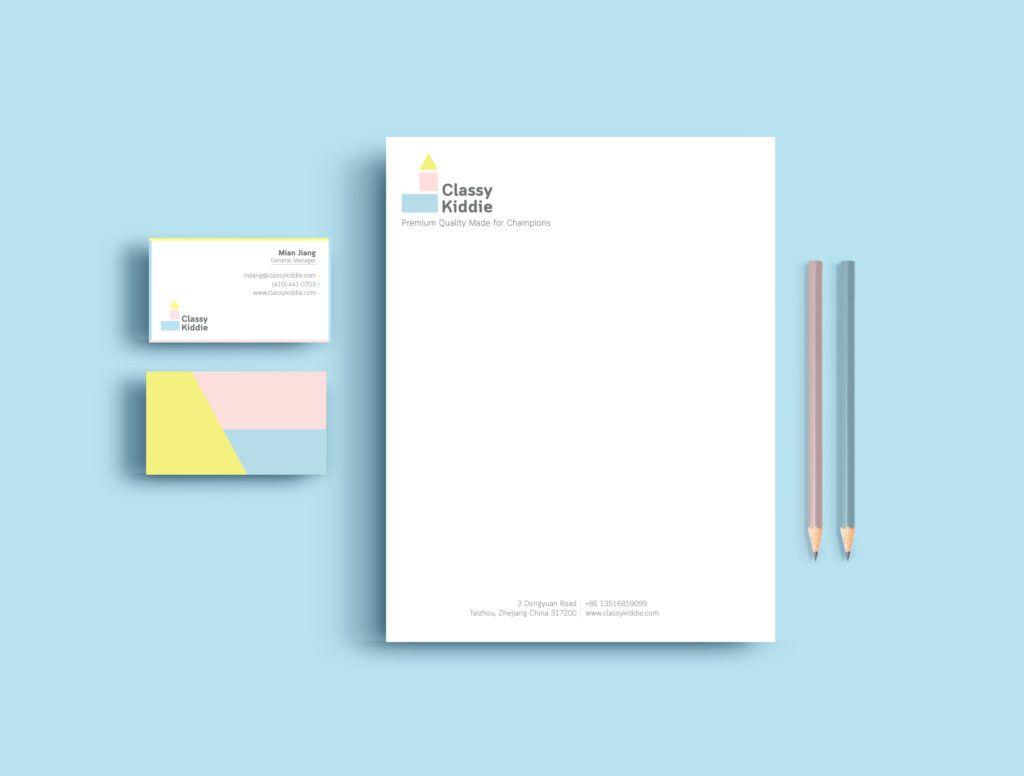Modern And Cool Business Card And Letterhead Design Made By Katarzynasurman Letterhead Design Cool Business Cards Printing Business Cards
