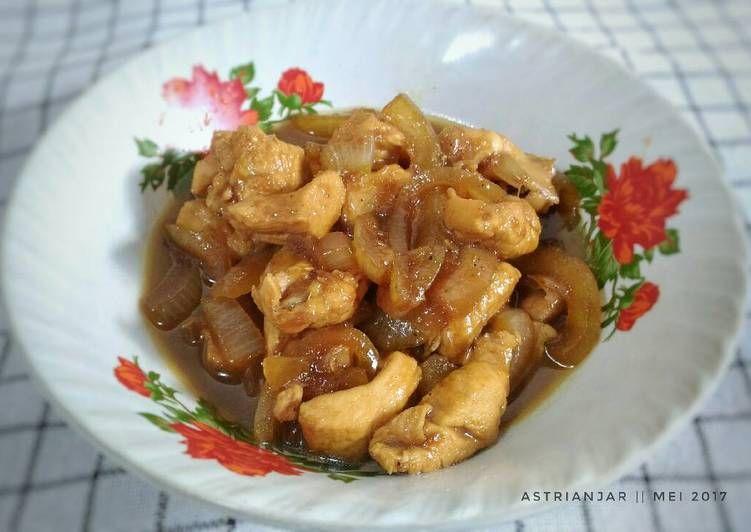 Resep Chicken Yakiniku Ala Hokben Oleh Astri Anjar Resep Resep Makanan Resep Makanan