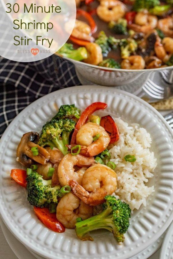Shrimp Stir Fry images