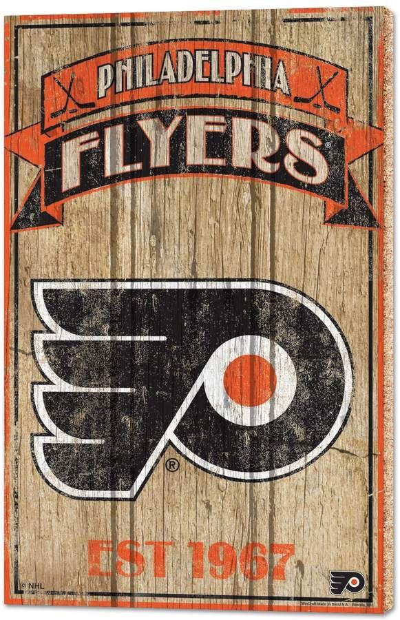 Philadelphia Flyers Wood Sign Wood Signs Philadelphia Flyers Flyer