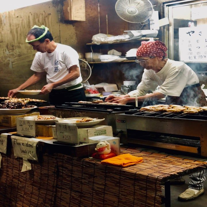 For the best food experience in tokyo go to a department