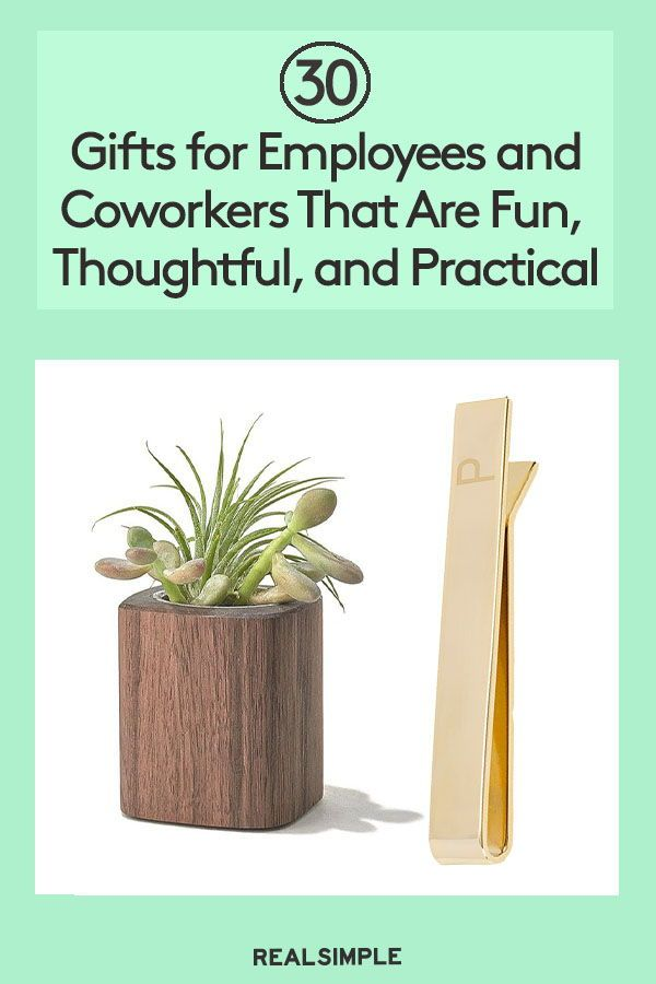30 Gifts for Employees and Coworkers That Are Fun, Thoughtful, and Practical