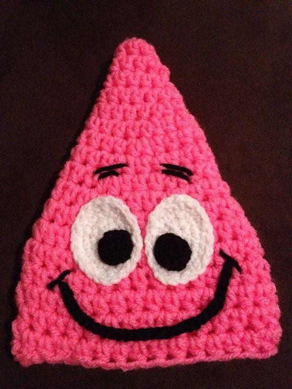 Starfish Crochet Hat Pattern by ItsATealThing on Etsy | crochet hats ...