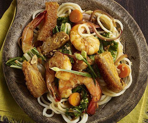 PlateOnline.com - Recipe Database - Pancit noodles