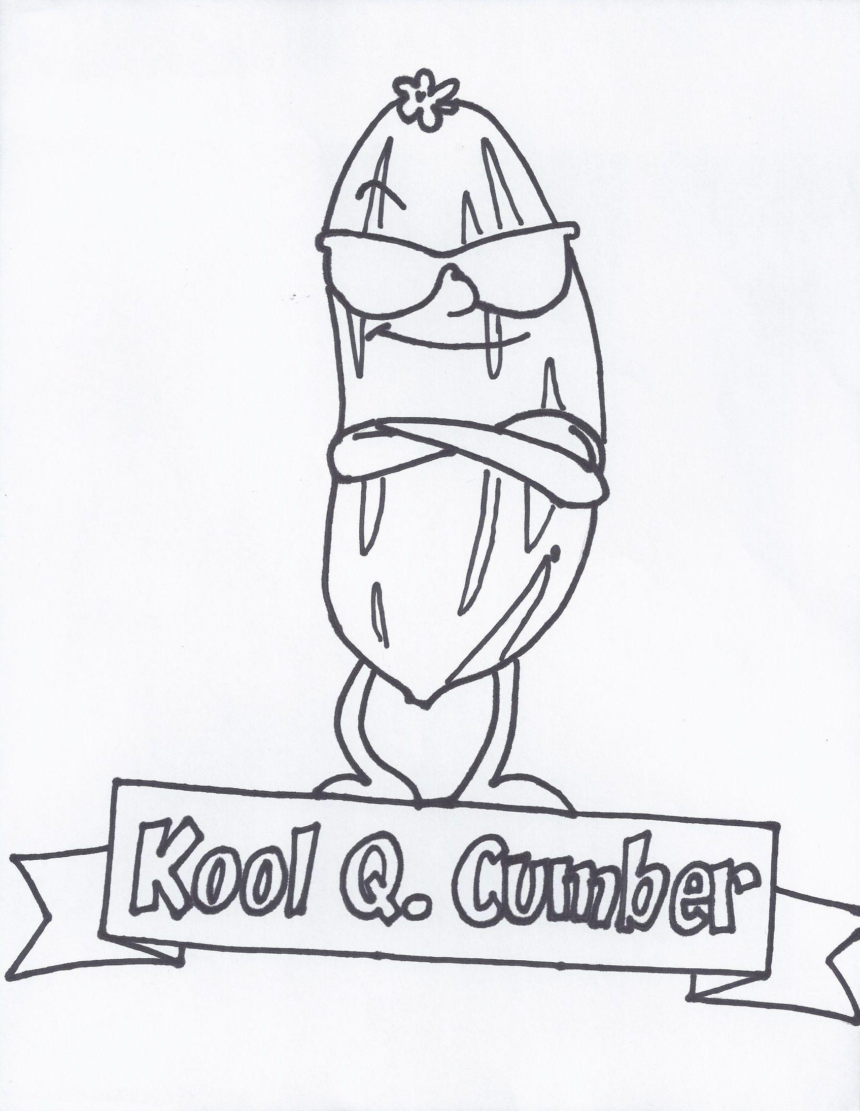 Kool Q Cumber I Help You Stay Calm Cool As A Cucumber