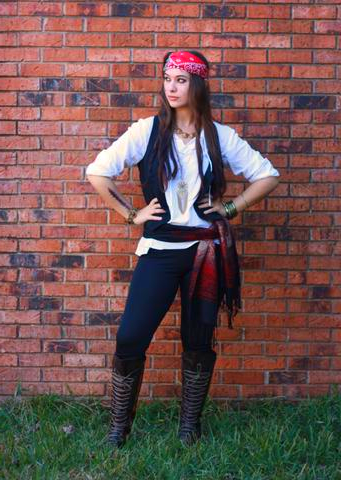 Woman Last Minute Pirate Costume : woman, minute, pirate, costume, Costume, Ideas, Halloween, Costumes, Women,, Costumes,, Modest