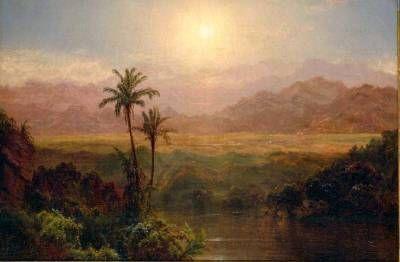 Frederic Edwin Church Art Desert Art Painting