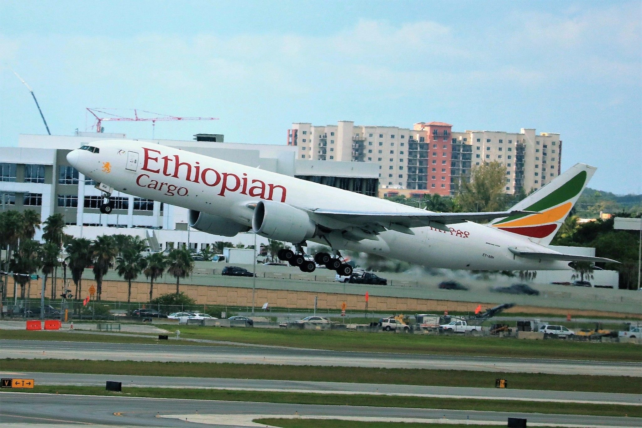 Ethiopian Airlines 777 Aircraft Aviation
