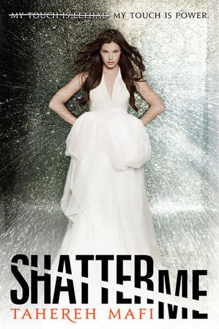 Shatter Me, Tahereh Mafi- LOVE these books. First time ever I've been rooting for the underdog guy (Warner). Beautifully written, as well 5/5
