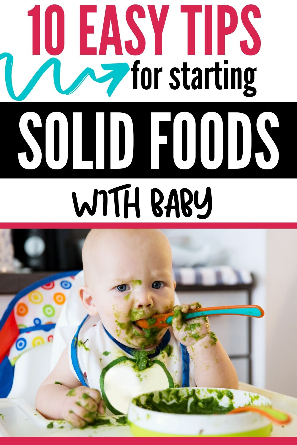 Starting Baby On Solids The Complete Guide Starting Solids Baby Baby Feeding Schedule Solids For Baby
