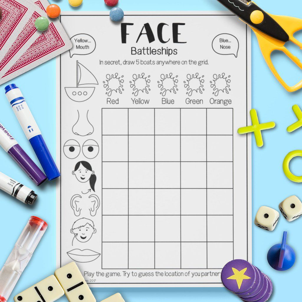 Face Battleships Game