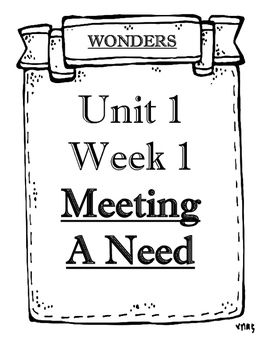 Wonders 2014/2017 edition Grade 5 Objectives Unit 1 Weeks