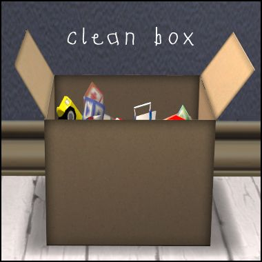 ModTheSims - A Box of Toys ....Because not all kids have a toy chest.
