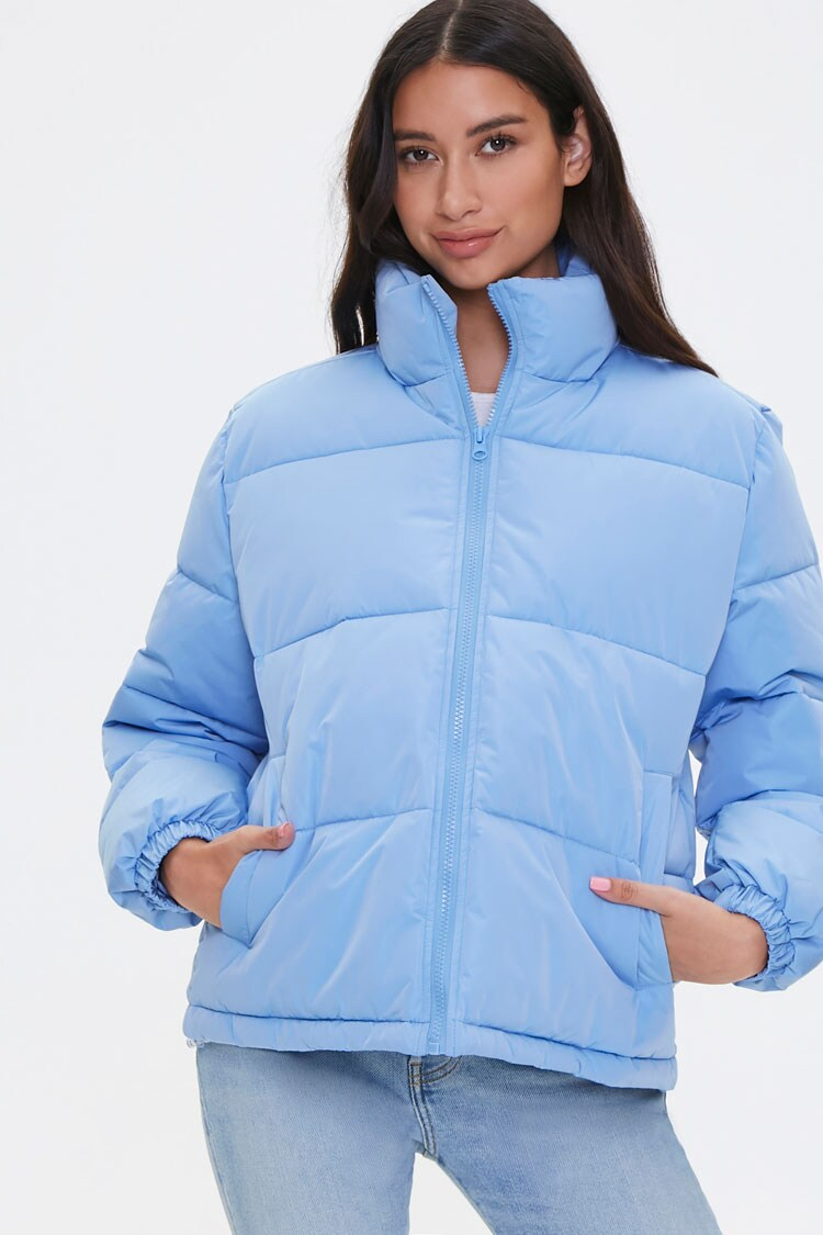 Quilted Puffer Jacket Forever 21 Quilted Puffer Jacket Puffer Jackets Jackets [ 1125 x 750 Pixel ]