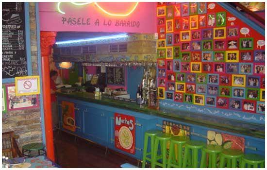 restaurante mexicano decoracion - Buscar con Google