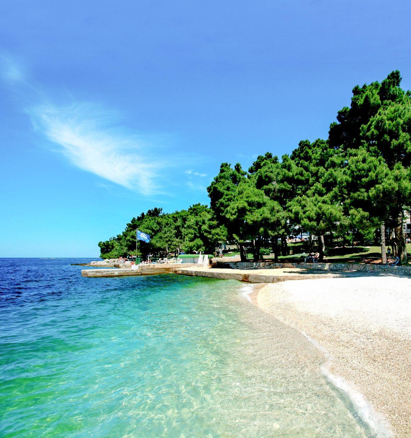 Kroatien Laguna Parentium Strand Kroatien Uralub Sandstrand Traumstrand Turkisblaues Meer Kr Ferienhaus Kroatien Kroatien Urlaub Urlaub Kroatien Ferienhaus