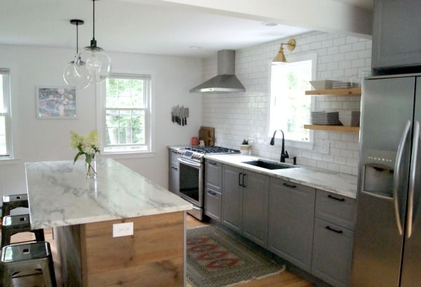 Boston Ikea Kitchenlike The One Long Counter With Stove And Sink For Our East Wall With The