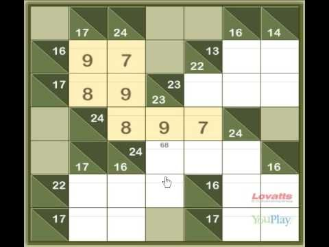 photo relating to Kakuro Printable named Totally free printable addition and multiplication Kakuro puzzles