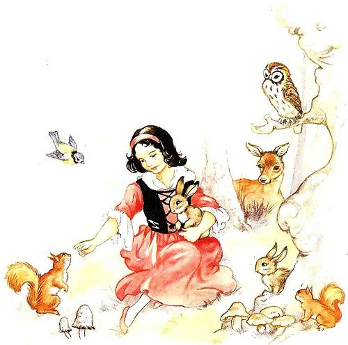 Rene Cloke, Snow White and Friends