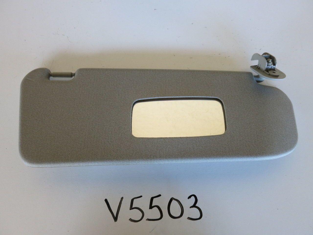 05 11 Chevy Aveo Right Passenger Side Interior Sun Visor Sunvisor Grey Car Parts For Sale Visor Chevy