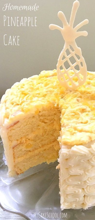 Photo of Pineapple Cake Recipe