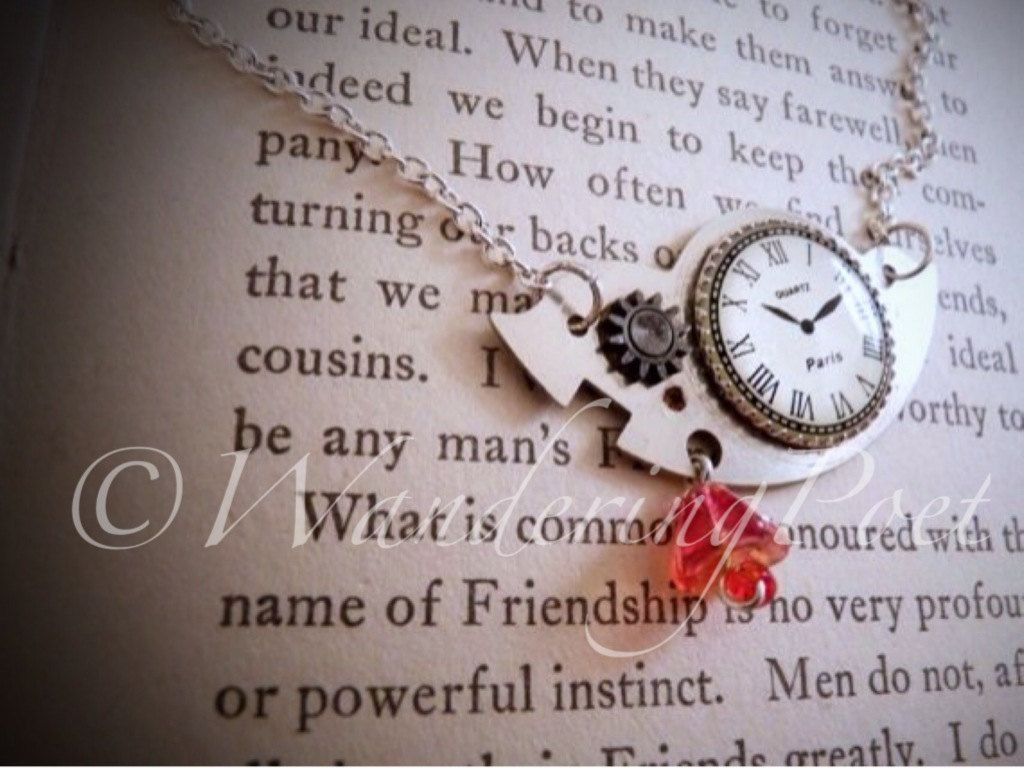 Pieces of Time by WanderingPoet on Etsy, $50.00