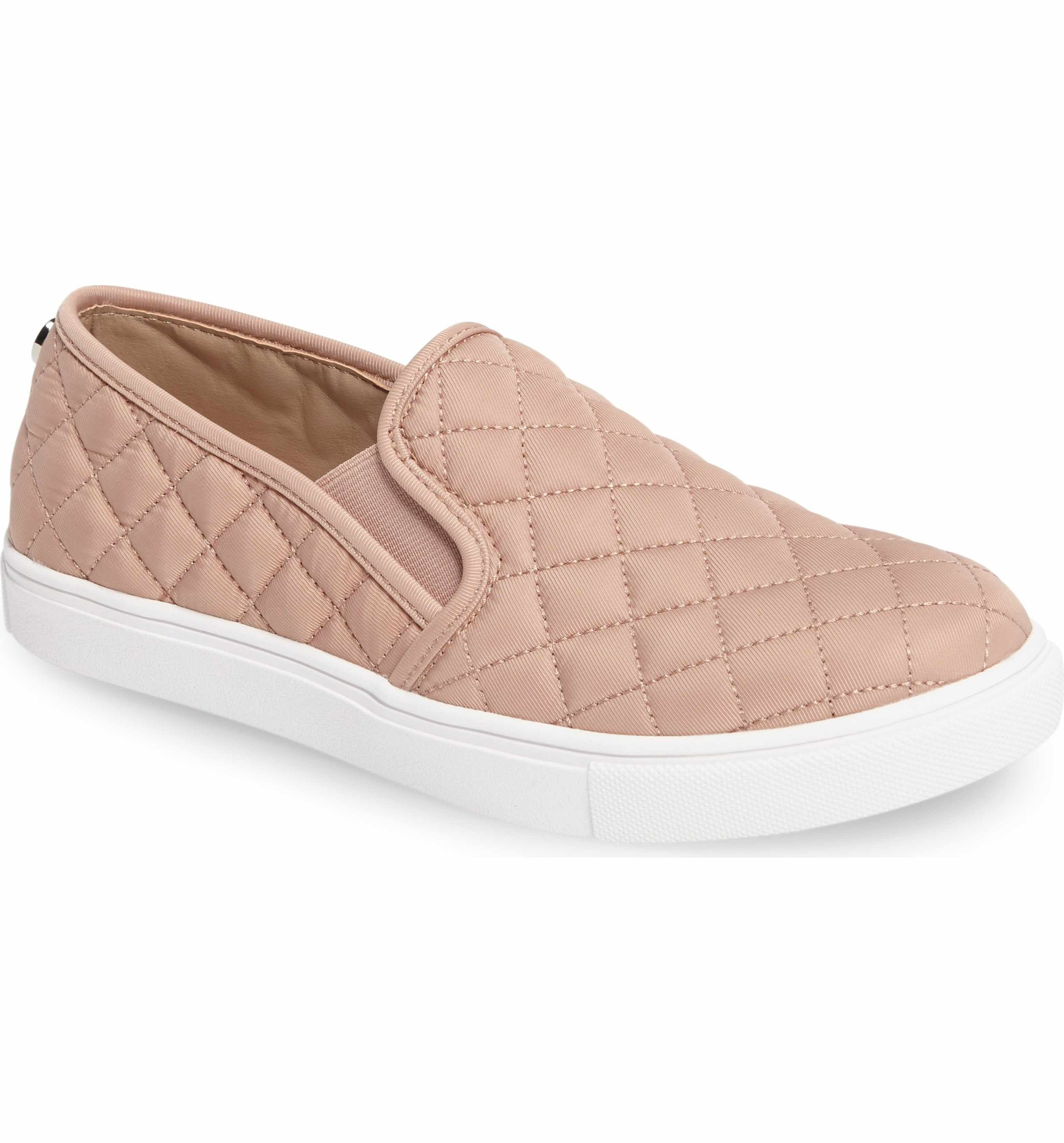 4f1d134dce33e Steve Madden 'Ecntrcqt' Sneaker | Quilted, Slip-on, Blush Pink ...