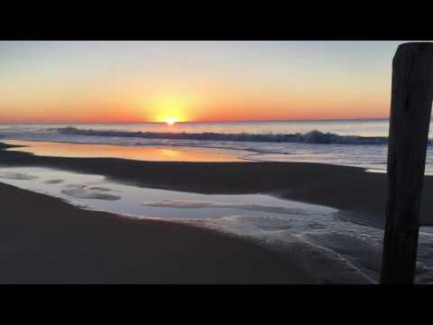 Sunrise in Ocean City Maryland June 8, 2016.  Today's Sunrise enlightens one to stay connected to one's faith! Enjoy! www.CooksQuotes.com