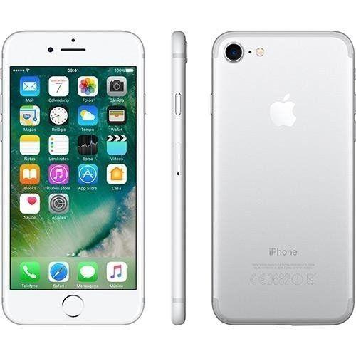 iPhone 7 Apple Silver 32 GB Desbloqueado MN8Y2BR/A - Apple ...