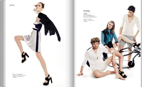 Fashion stylist Rozalia Ramileva