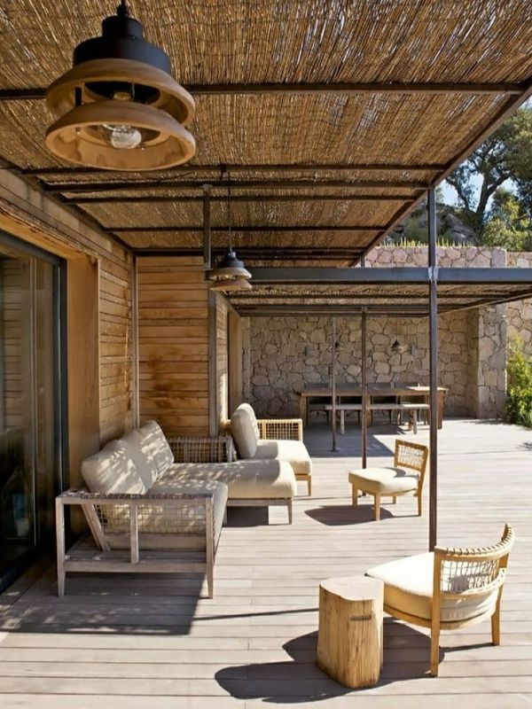 R sultat de recherche d 39 images pour protection soleil canisse id terrasse pinterest - Protection soleil terrasse ...
