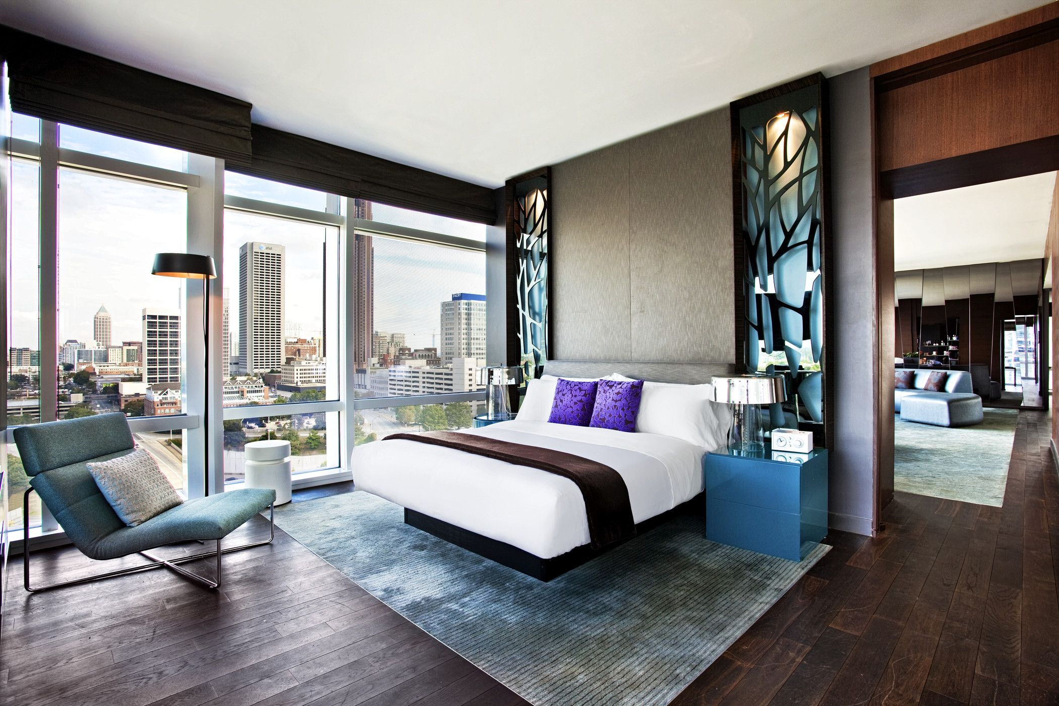 One Of The Bedrooms In Our Ewow Suite W Atlanta Downtown