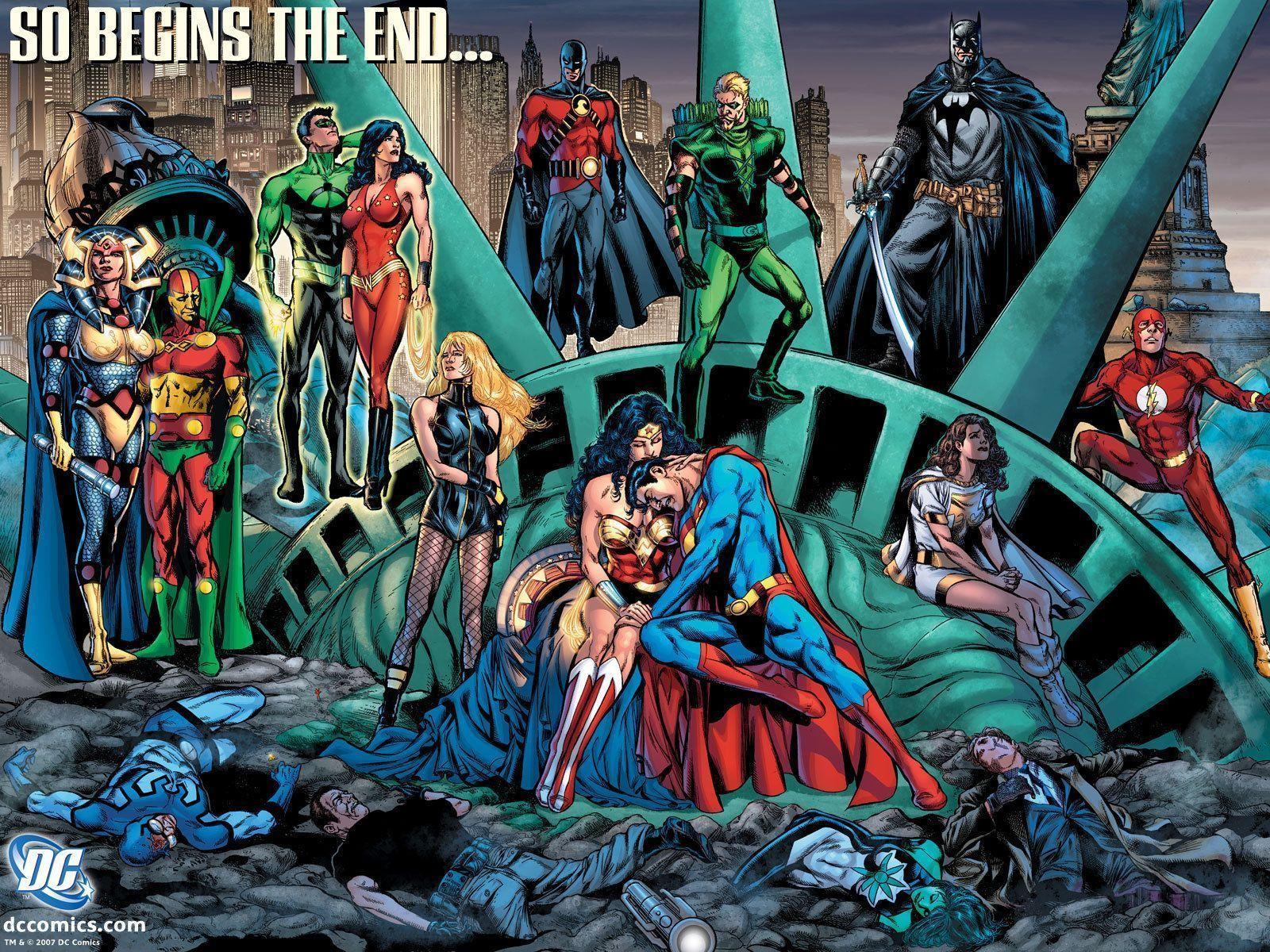 So Begins The End Dc Comics Wallpaper 4206733 Fanpop Dc Comics Wallpaper Dc Comics Superheroes Comics