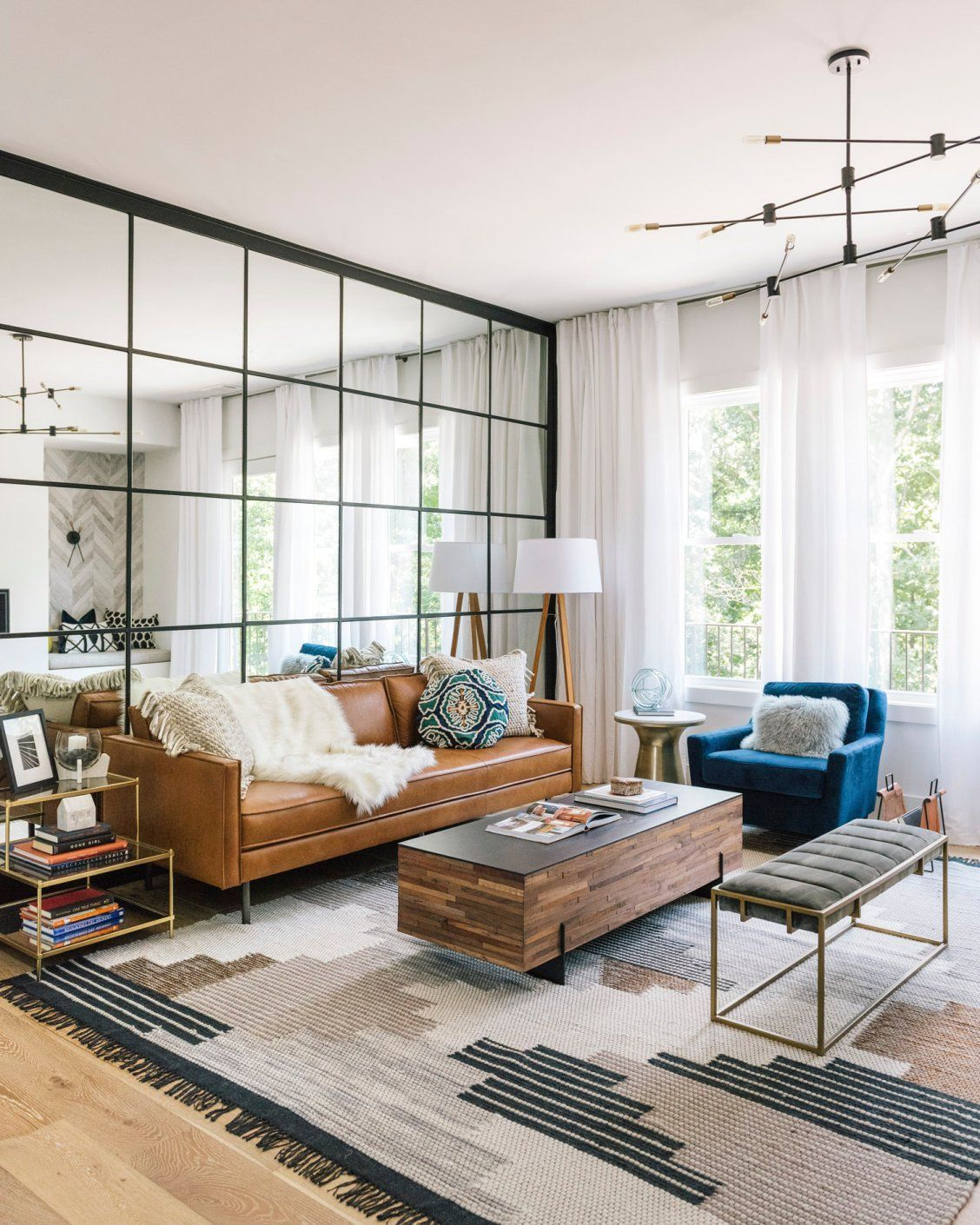 Mid Century Modern Living Rooms That Will Brighten Your Home Decor