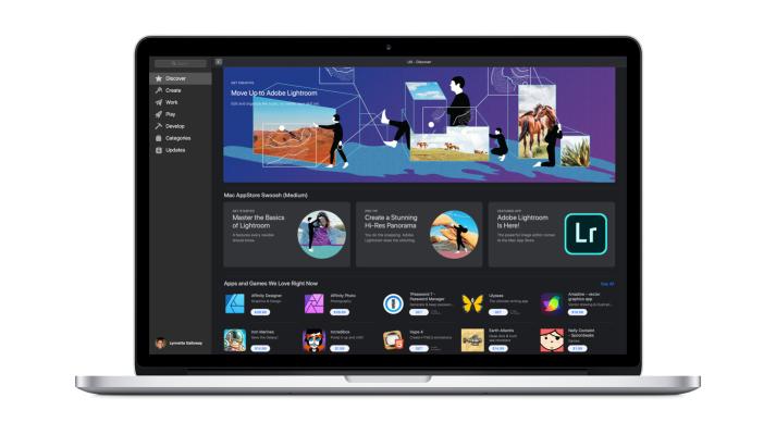 Adobe Lightroom arrives in the Mac App Store Mac app