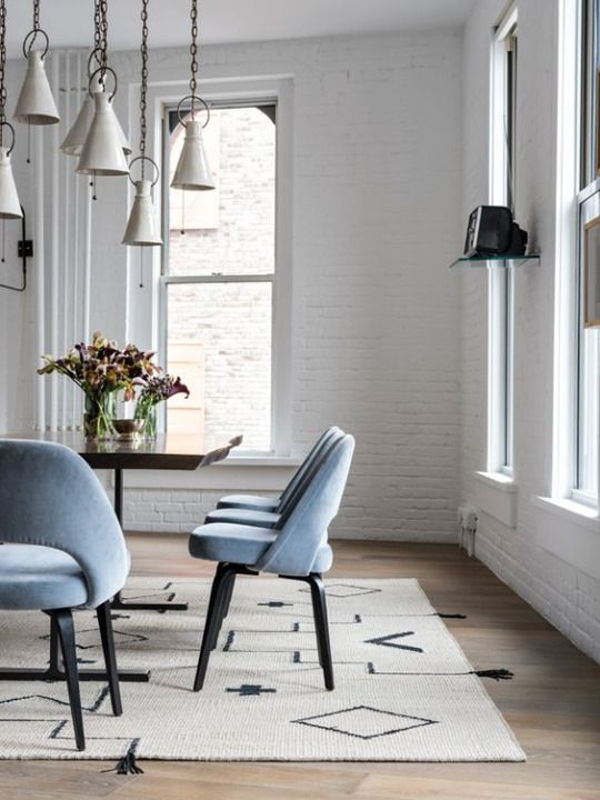 light blue dining chairs dining rooms in 2019 dining house rh pinterest com