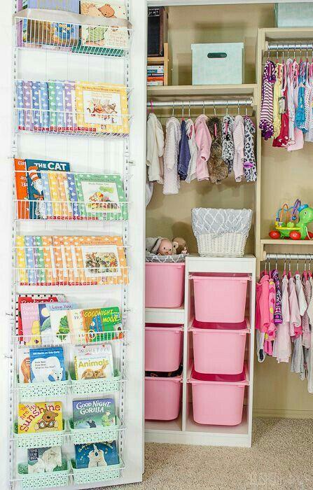 love the book organizer closet organizing in 2019 baby closet rh pinterest com