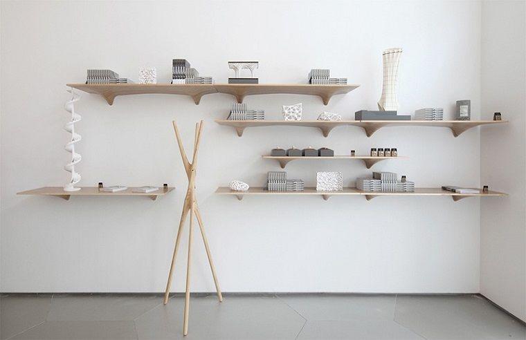 estanterias de diseño para la pared de tu casa For the Home