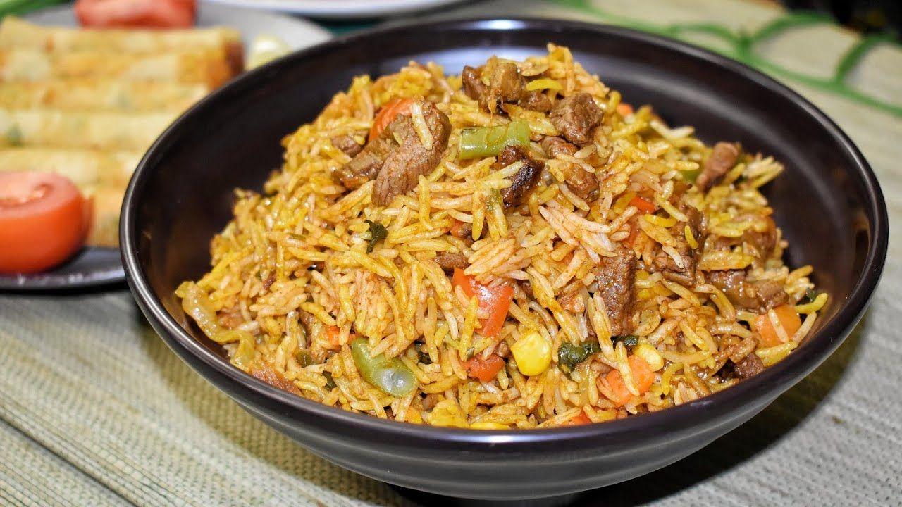 اسهل واسرع ارز برياني ممكن تعمليه اقتصادي والطعم جنان والبهارات روعة Easy Biryani Youtube Cooking Recipes Biryani Recipe Recipes