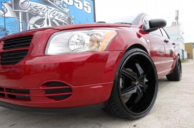 dodge caliber rims mag wheels dodge caliber with helo he866 full rh pinterest com