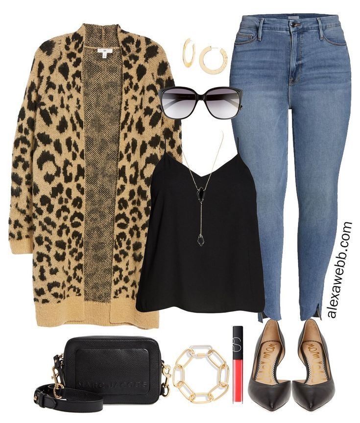 Nordstrom Anniversary Sale 2019 – Plus Size Outfits - Plus Size Leopard Cardigan, Good…