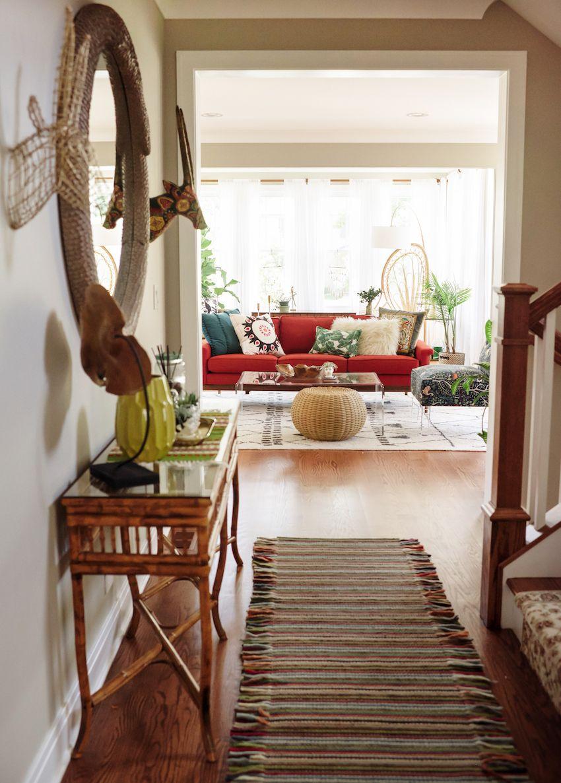 interior design of bungalow houses%0A Vintage Treasures Spice Up a Bohemian Bungalow   Design Sponge