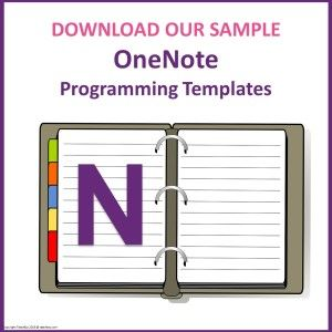 Programming Templates OneNote SAMPLE | Nursing Mnemonics