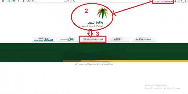 حجز موعد في مكتب العمل رابط الخدمات الإلكترونية في وزارة العمل Pie Chart Chart