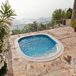 Modelos de piscinas peque as para bajos presupuestos y for Modelos de patios y jardines