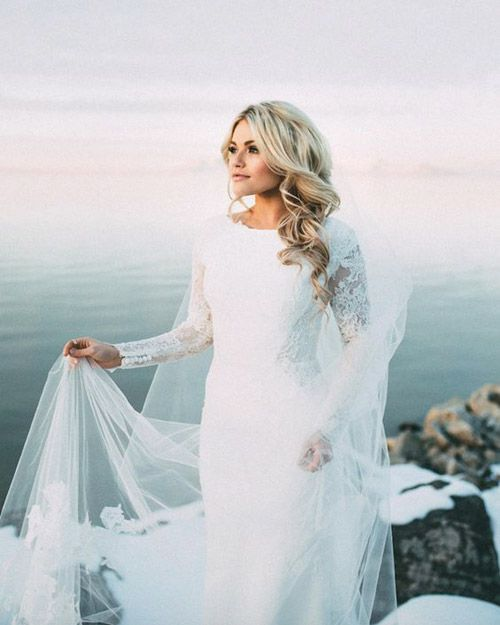 Wedding Gowns For Winter Brides That We Love | B&E Lucky in Love ...