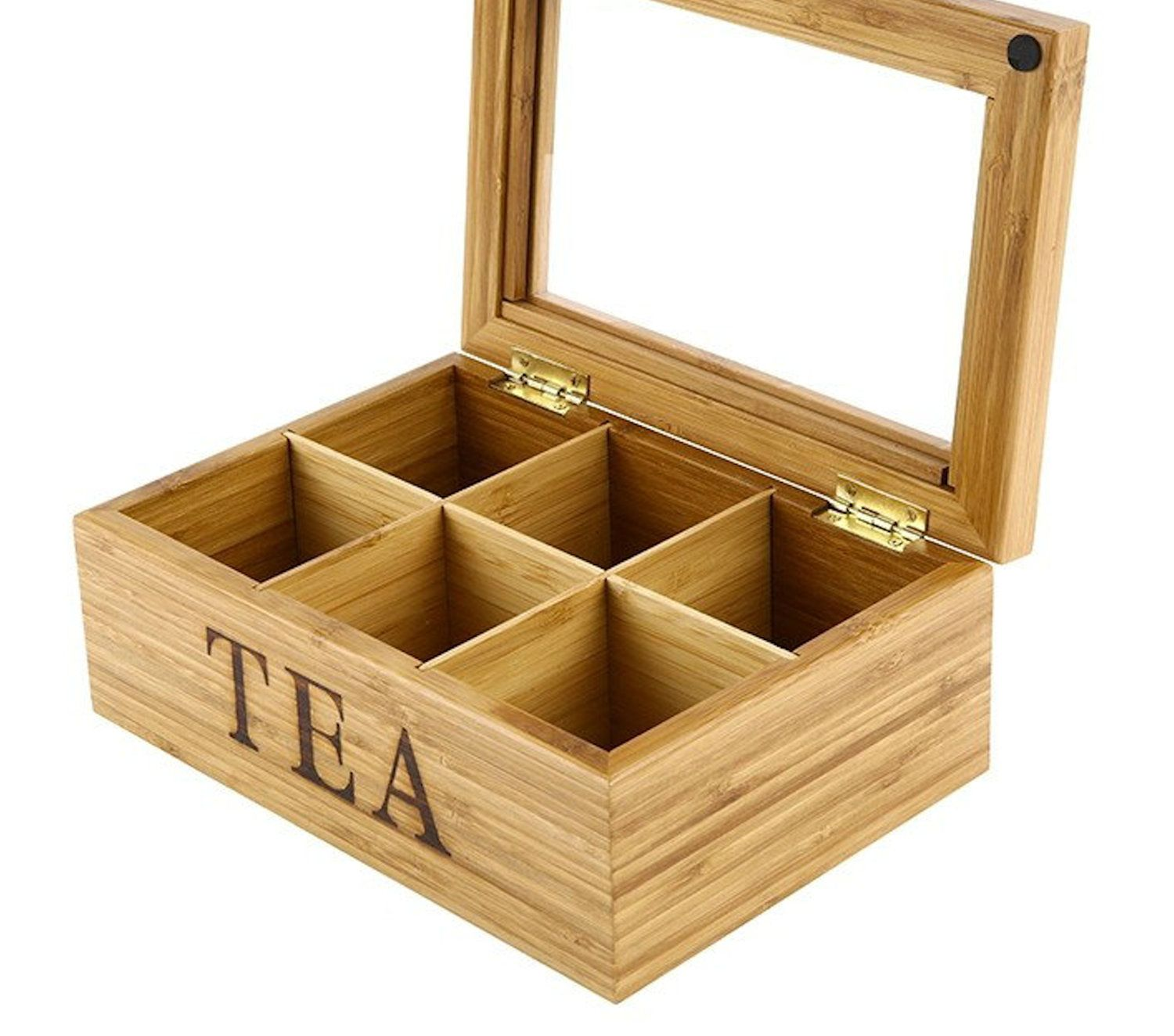 Bamboo Kingtea box made of natural bamboo