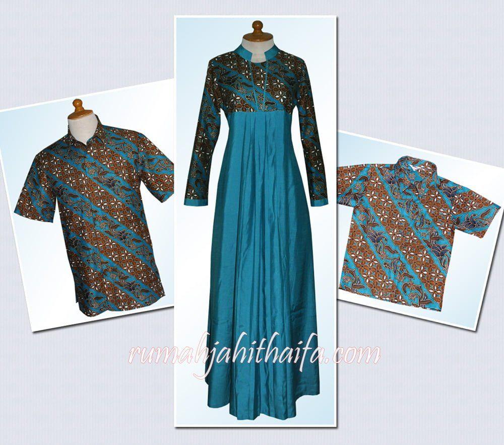 Model Gamis Batik Ibu Hamil Muslimah di 11  Model pakaian